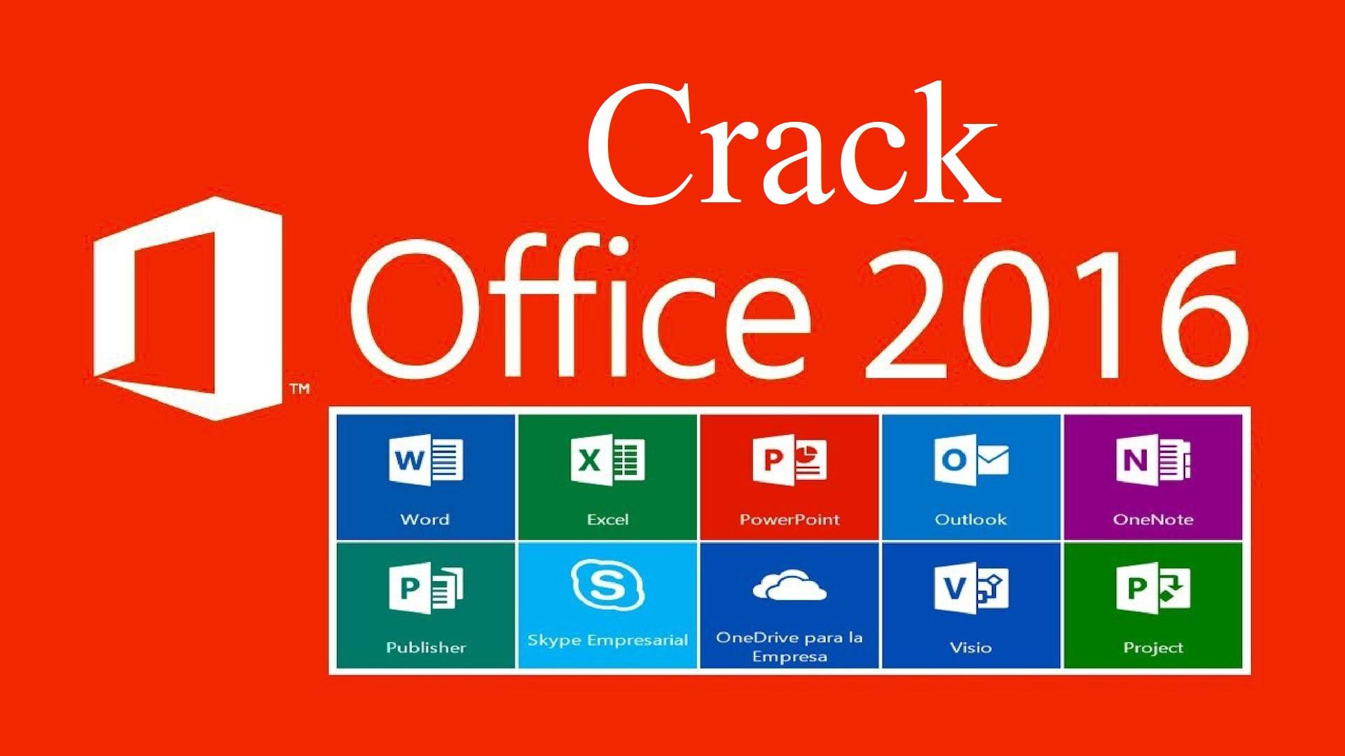 Crack Office 2016