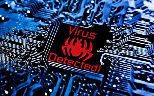 Máy tính bị nhiễm mã độc