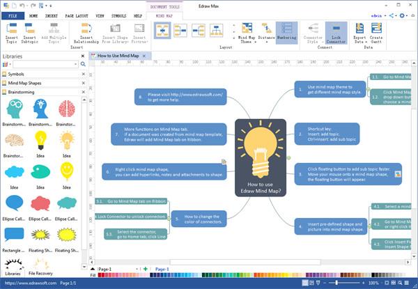 Phần mềm vẽ sơ đồ tư duyEdraw MindMap