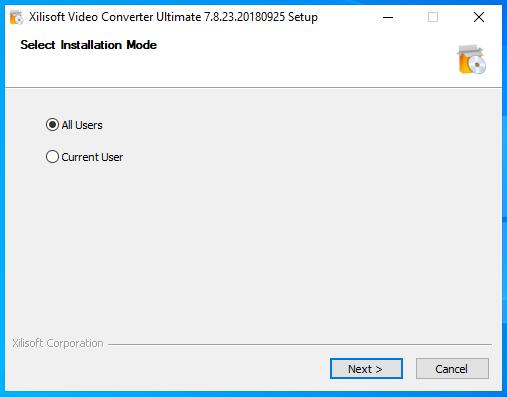 Hướng dẫn cài đặt Xilisoft Video Converter