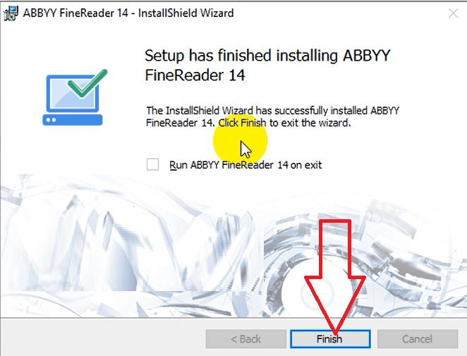 Hướng dẫn cài đặt ABBYY FineReader 14 Full Crack