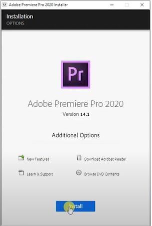 Hướng dẫn cài đặt Adobe Premiere Crack
