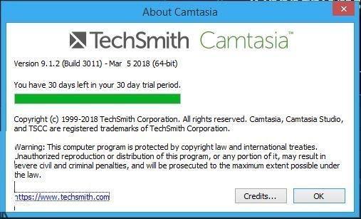 Hướng dẫn cài đặt Camtasia Studio 9.1