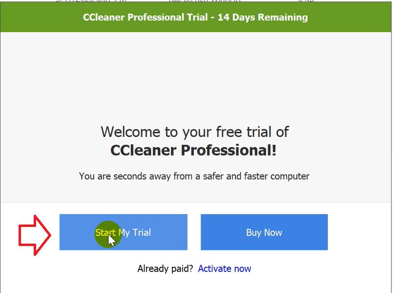 Hướng dẫn cài đặt CCleaner Professional