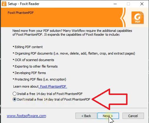 Hướng dẫn cài đặt Foxit Reader Crack