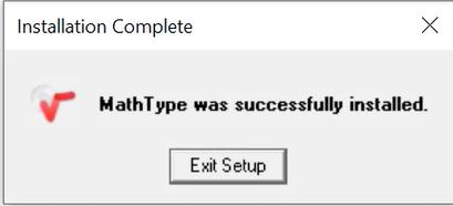 Hướng dẫn cài đặt Mathtype Full Crack