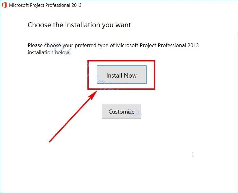 Hướng dẫn cài đặt Microsoft Project 2013