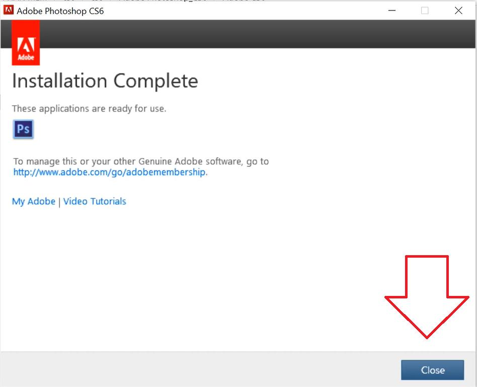 Hướng dẫn cài đặt phần mềm Photoshop CS6 Crack