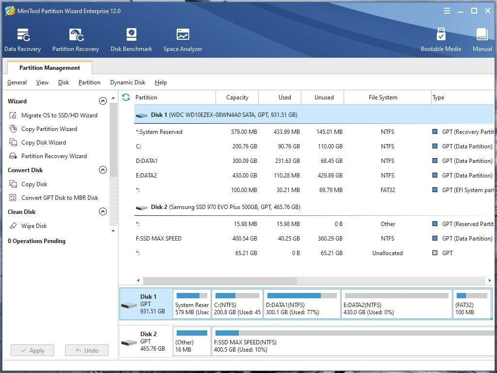 MiniTool Partition Wizard Full