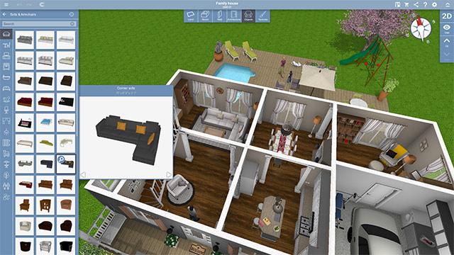 phần mềm thiết kế nhà Home Design 3D