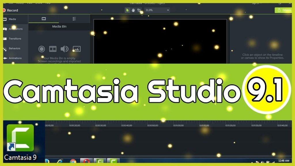 Camtasia Studio 9.1 2.3011 Crack