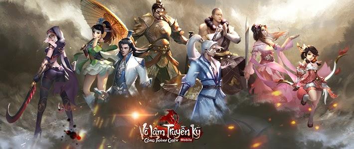 Tải game Võ Lâm Truyền Kỳ Mobilevề máy tính