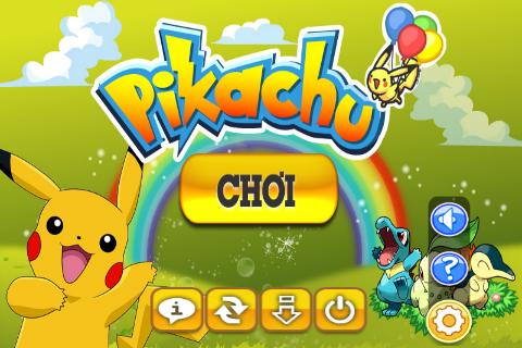 Tải game Pikachu miễn phí về điện thoại cảm ứng