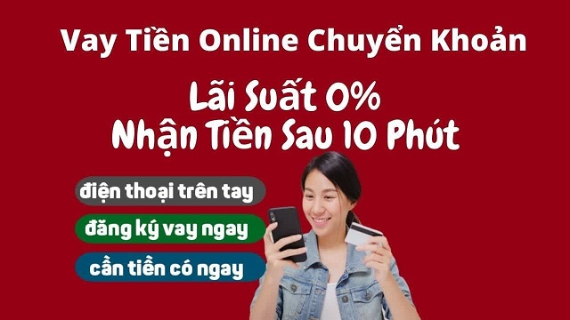 Vay tiền online chuyển khoản - nên hay không nên?
