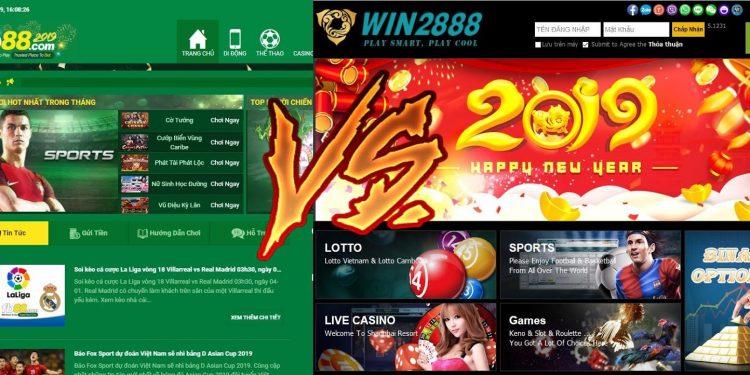 So sánh nhà cái Win2888 với Fb88